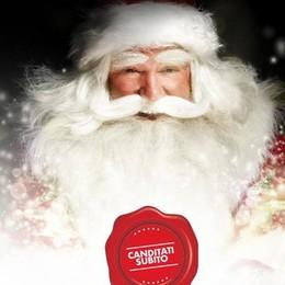 Assomigli a Babbo Natale? Ne cercano uno a Mapello