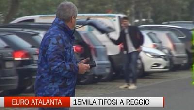 L'Atalanta scalda i motori. Attesi 15mila tifosi a Reggio Emilia