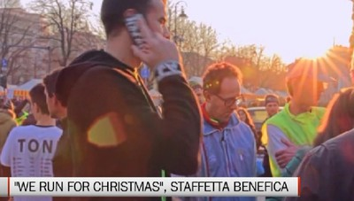 we run for christmas, staffetta benefica sabato e domenica