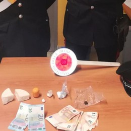Arrestato spacciatore a Urgnano  I carabinieri sequestrano cocaina