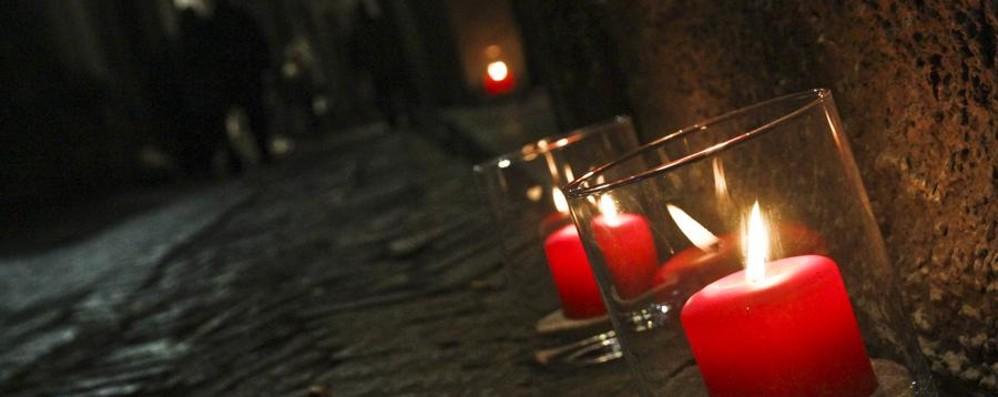 Torna «M'illumino di meno» Città Alta a lume di candela