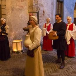 Cena medievale a Malpaga con le sorprese di Carnevale