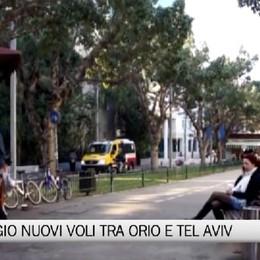 Nuovi voli tra Orio e Tel Aviv