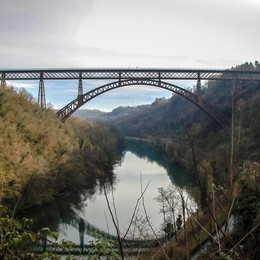 Il ponte di Calusco compie 130 anni  Come regalo c'è il restyling - Foto/video