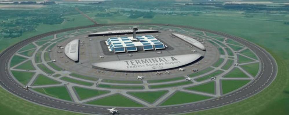In futuro aeroporti con piste circolari? L'idea di un ricercatore contro i rumori