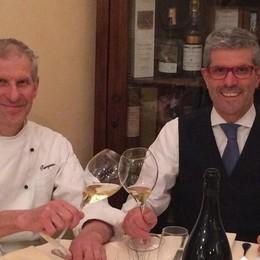 Festa per i fratelli Ferrari da 40 anni al «Pampero»