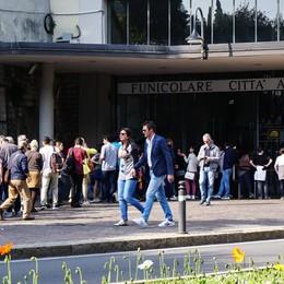 La funicolare assediata dai bus turistici  In arrivo le navette e i biglietti on line