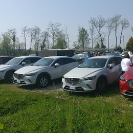 Passione Mazda CX-3 Dal Web al raduno di Treviglio