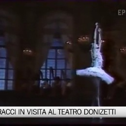 Carla Fracci al Teatro Donizetti