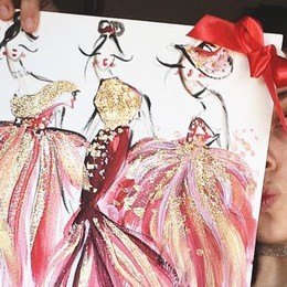 Ad Alzano disegna la moda Ora Maria sogna di crearla