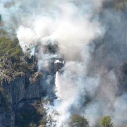 Pericolo di incendi boschivi Confermata la criticità in Bergamasca