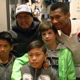 «Fiduciosi di poter battere la Juve» Cabezas incontra i tifosi all'Atalanta Store