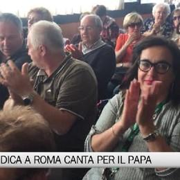 Il Coro Idica canta per il Papa e in Senato