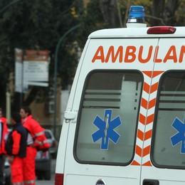 Incidente tra due auto a Sorisole Code da Bergamo per la Valle Brembana