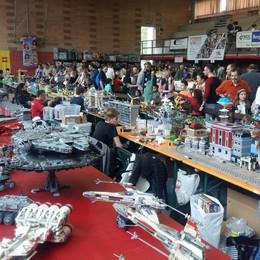 «Mattoncini in Villa», boom per i Lego 10 mila appassionati da tutta la provincia
