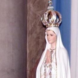 Domenica l'arrivo in Cattedrale  In Città Alta la Madonna di Fatima