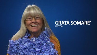 Grata Somarè e i suoi abiti artistici  «Vestiti civili? Visite mediche e funerali»