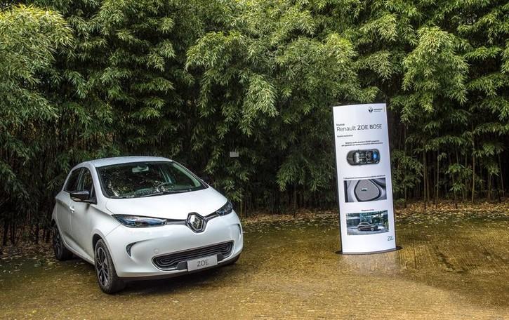 Sull'elettrica Renault ZOE  la ricarica ora è più facile