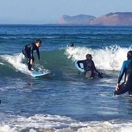 Il surf come metodo per l'autismo all'«Accademia della Salute»