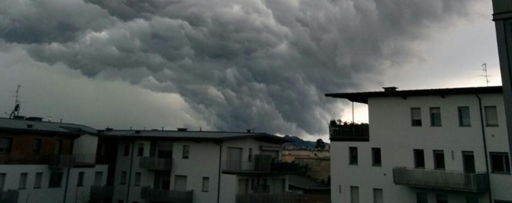 Resta l'allarme temporali Sabato possibili precipitazioni