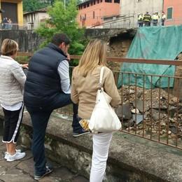 Vertova, piogge torrenziali -Foto Cede una strada, nessun ferito