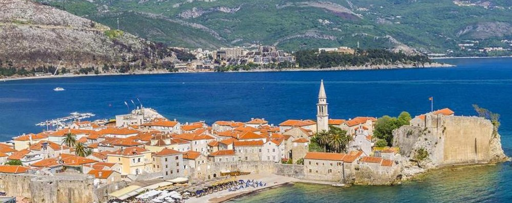 Da Orio al Montenegro Budva, perla d' Adriatico