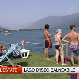 Arriva l'estate, lago d'Iseo balneabile
