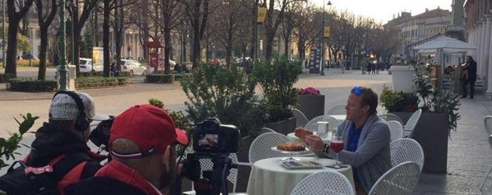 Bergamo senza confini (a tavola) - Video  Ecco la trasmissione sulla tv russa