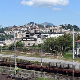 Bergamo è come un binario morto: ogni giorno al massimo 2 treni merci