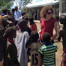 In Etiopia a «far quadrare i conti»  Francesca salva i bambini malnutriti