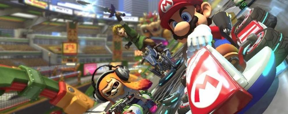 Mario Kart 8 Deluxe,  gusci e derapate su Switch