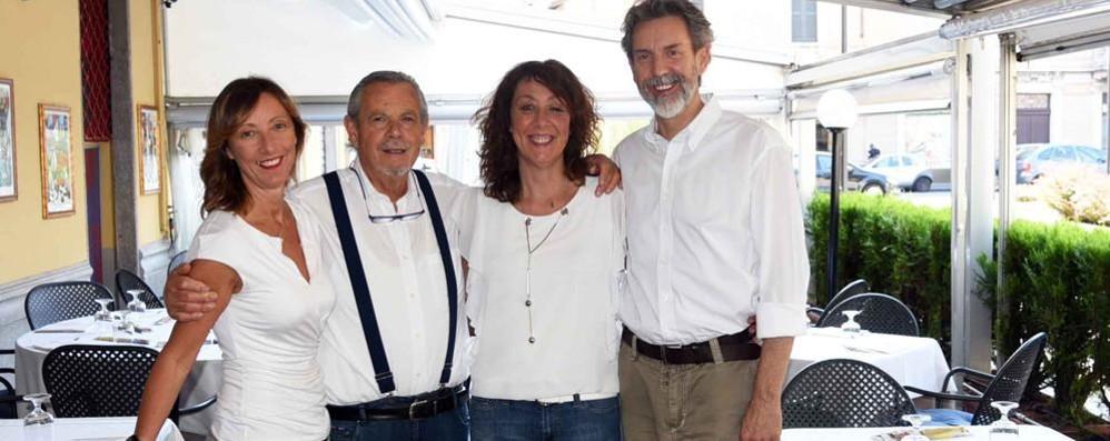 Franco e il suo «Arlecchino» 50 anni di pizza in Sant' Anna