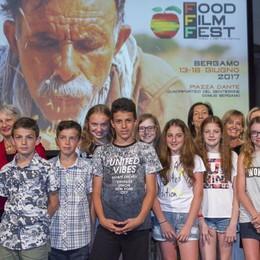 Cibo e cinema, premiati i giovani  Domenica sul Sentierone L'Eco cafè