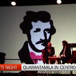 Donizetti Night, quarantimila persone in centro città