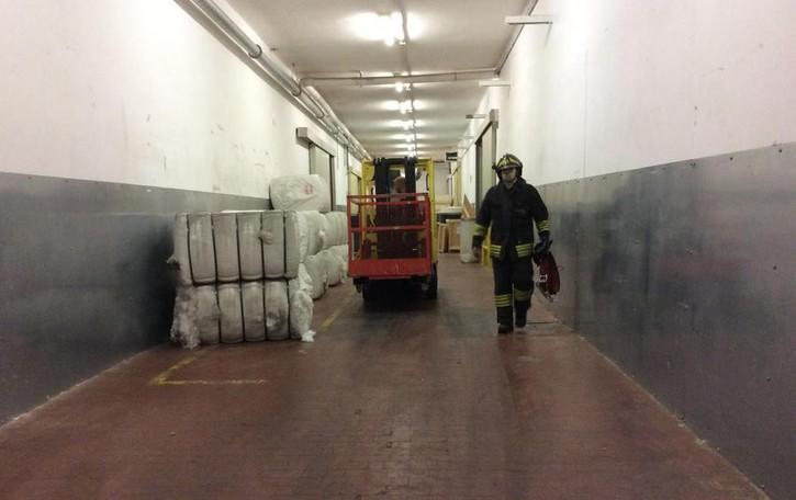 Allarme incendio a Cene Verifiche dei Vigili del fuoco