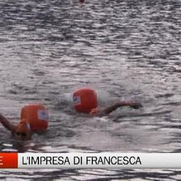 Lago d'Endine - L'impresa di Francesca
