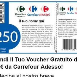 Whatsapp, attenti alla truffa - foto Buono spesa da 250 euro, ma è falso