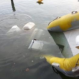 Vandali contro l'idroambulanza di Predore Affondato il gommone che salva le vite