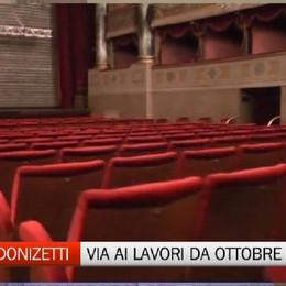 Donizetti, lavori al via da ottobre