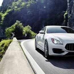 In Valle Rossa si testano i bolidi A luglio la Maserati sarà a Bianzano