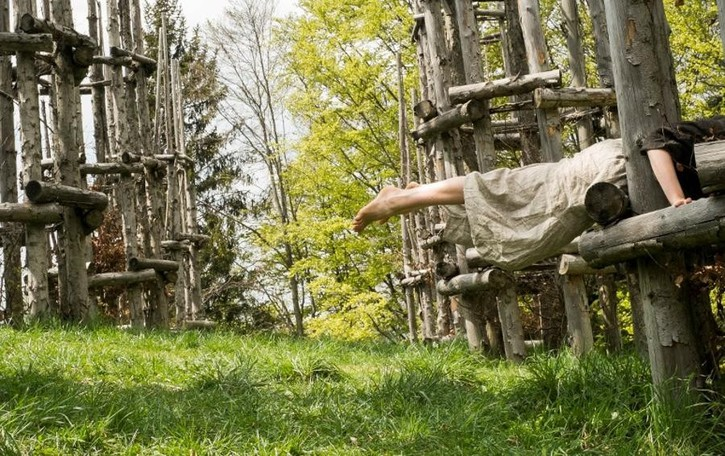 Arte, danza e natura si fondono- Video Performance nella cattedrale vegetale