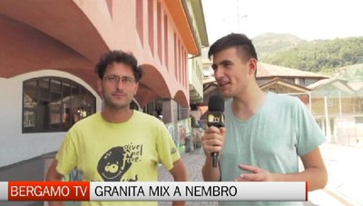 Bergamo TV, con Granita Mix all'oratorio di Nembro