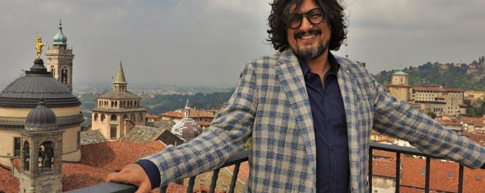 Chef Borghese degusta Bergamo  (Con l'equivoco della multa, poi tolta)