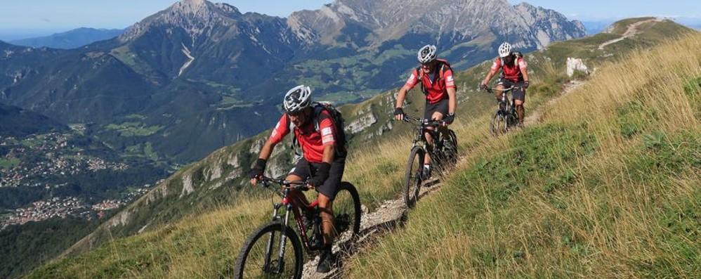Le due ruote conquistano le montagne All'Orobie Bike Fest c'è anche L'Eco Cafè