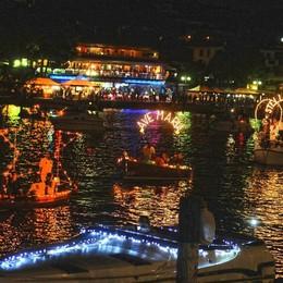 Tutto pronto per la «Stella maris» Processione con le barche a Sarnico