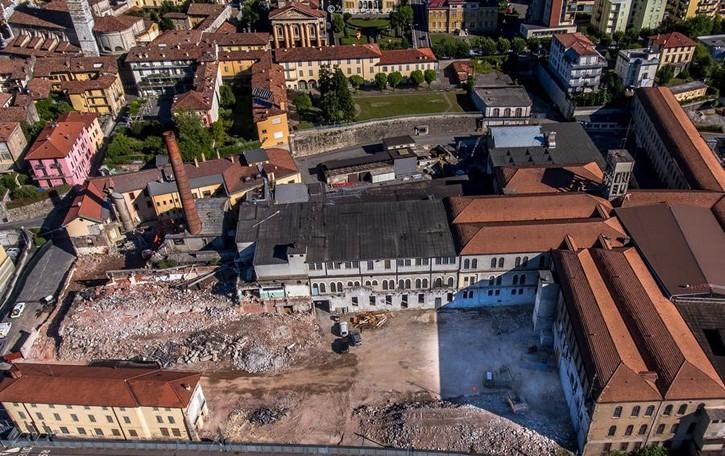 Ex Pigna, via alla demolizione  La storia ritorna al centro di Alzano