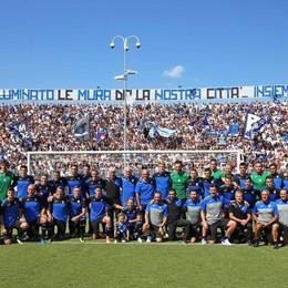 Diecimila allo stadio per l'Euro-Atalanta «Viviamo questo sogno divenuto realtà»