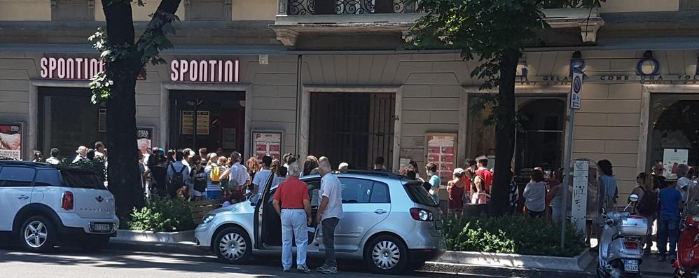 Pizza gratis per lo Spontini day «Assalto ai forni» in centro a Bergamo