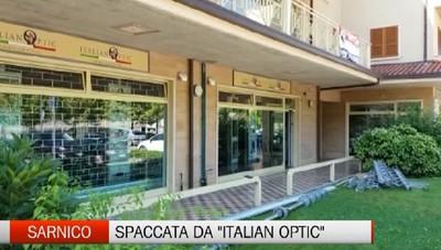Sarnico, spaccata da 80mila euro a Italian Optic