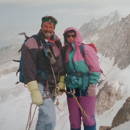 L'alpinismo bergamasco è in lutto Morto il «gigante buono» Franco Maestrini